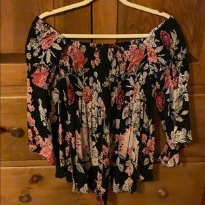 Floral top- Angie- Medium